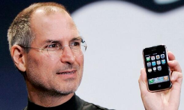 Steve Jobs Introduced the iPhone, seven years ago today - http://t.co/RVVqy4SYfd #ios #objc #apps http://t.co/Njw8T2v6sT