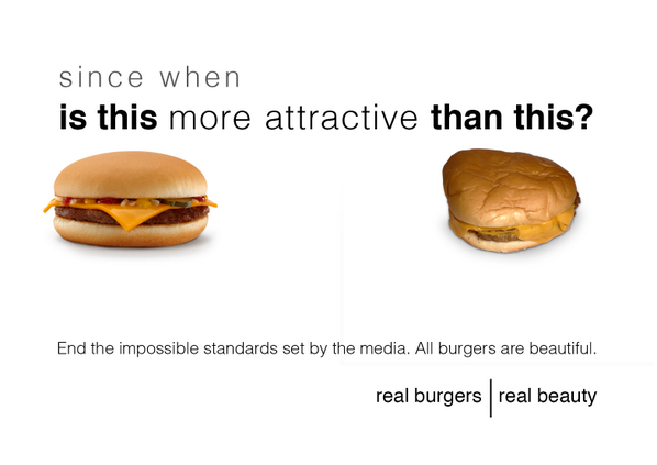 I'm sick of these unrealistic expectations of burger beauty. http://t.co/9nTbBv6cZC
