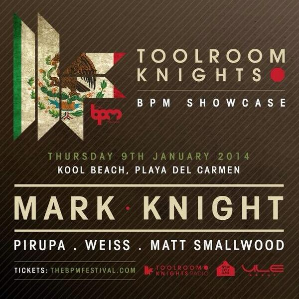 Today @toolroomrecords @TheBPMFestival @djmarkknight CAN'T WAIT! http://t.co/Ij0MnmgaJY