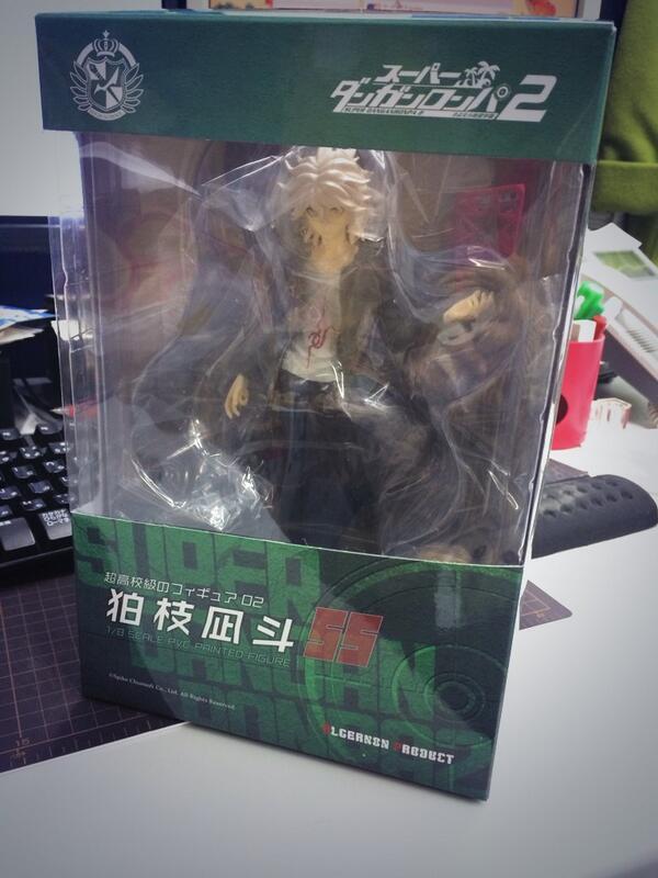 狛枝氏フィギュアの検査用先だし分が届いたよ! http://t.co/eHnCDXQcMM