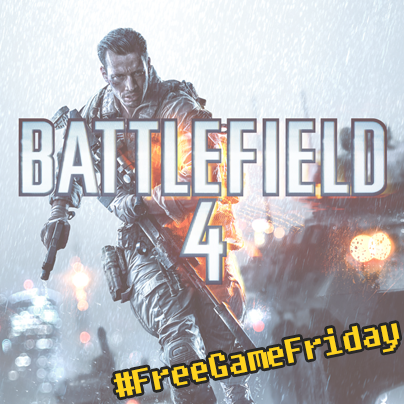 #FREEGAMEFRIDAY IS BACK! This week we're giving away #Battlefield4 for PC! Follow & RT for a chance to win! http://t.co/2QpZHaCsPh