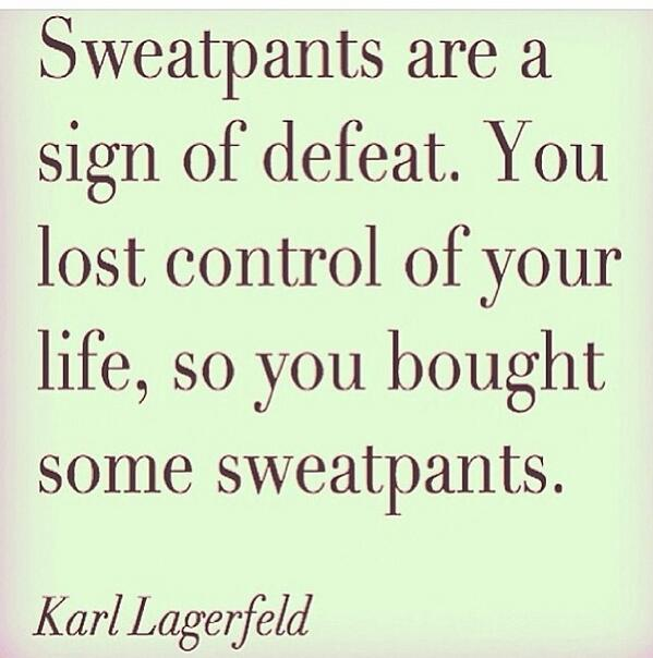 Who agrees with  this quote ?  @karlllagerfield. #brilliant http://t.co/CUt2AVsyiB