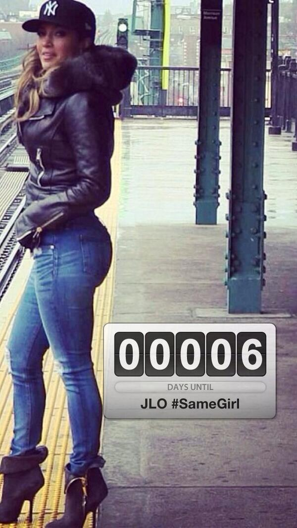 #Countdown --> 6 days Until @JLo #SameGirl :) are you Ready #JLOVERS ? RT http://t.co/oizQTsRtr6
