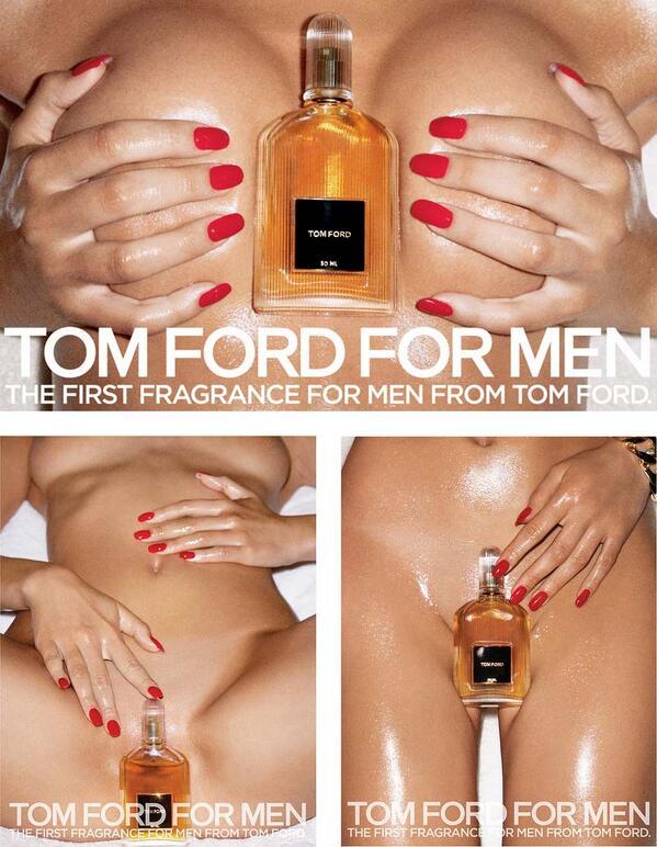 """すごすぎる。 RT @bigakukenkyujo: 香水のヴィジュアルイメージでは、トム・フォードがやばい。さすがGucciを立て直しただけあって、本当に凄い広告だと思う。エロスとエレガンスの臨界点に接した傑作。 http://t.co/f8TKTzaLIP"""""""