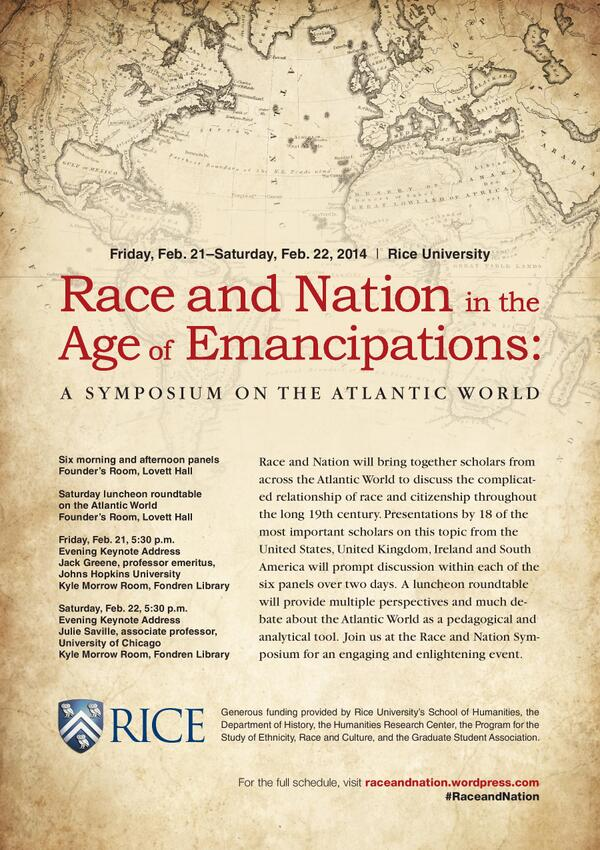 "Whitney Nell Stewart on Twitter: ""#RaceandNation symposium has a ..."
