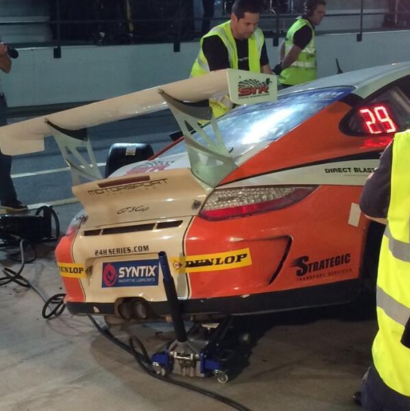 Rebecca Jones On Twitter Pneumatic Jack Failure On The 96 Porsche