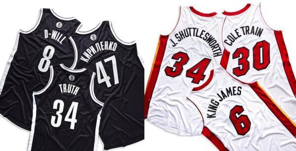 Nets, Heat unveil nicknames
