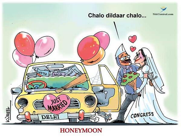 #YoKejriwalSoHonest that its kundali matches with congress for wedding http://t.co/9mJveAKtBK