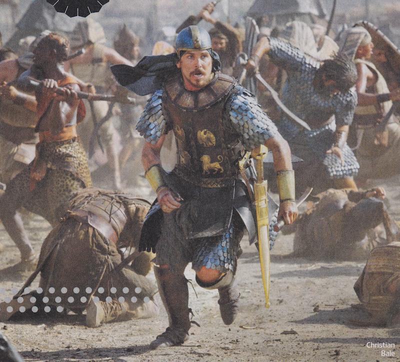 Exodus de Ridley Scott avec Christian Bale, Aaron Paul et Joel Edgarton.  BdpoCfUCUAMyWZD