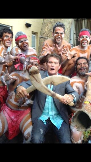 Twitter / DavidHasselhoff: Good Morning Australia and ...