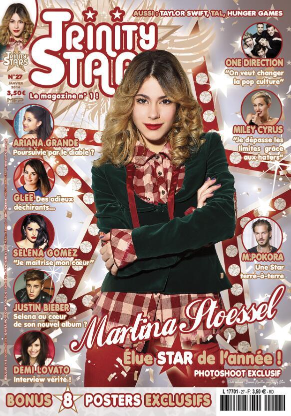 Le prochain magazine sur Martina Stoessel sort demain!