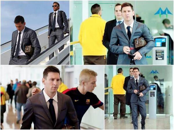 #Fcblive #messi #Fcb #barcelona #messipic #barca arrived in Madrid<br>http://pic.twitter.com/WapX8fQsQF