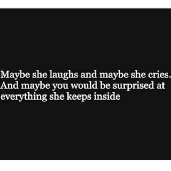 "Sad Quotes On Twitter: ""Maybe She Laughs And Maybe She"