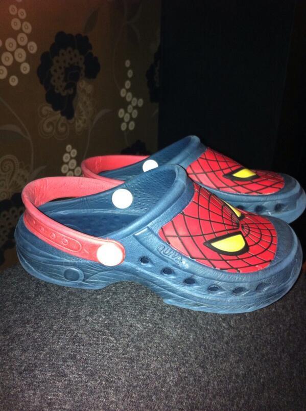 Spider-Man Huaraches. Shout