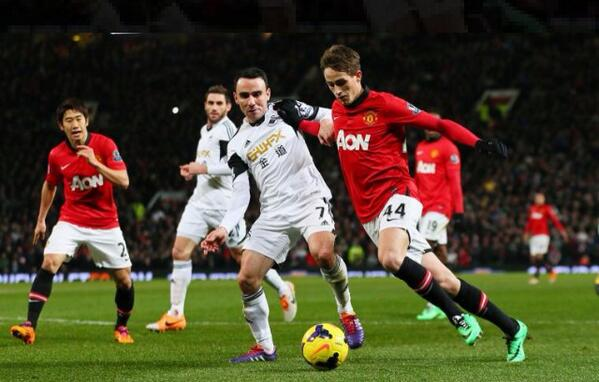 Adnan Januzaj lavished with praise after a dazzling performance for Man United v Swansea [Individual highlights]