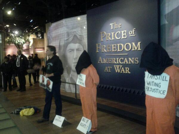 Witness Against Torture in the History Museum