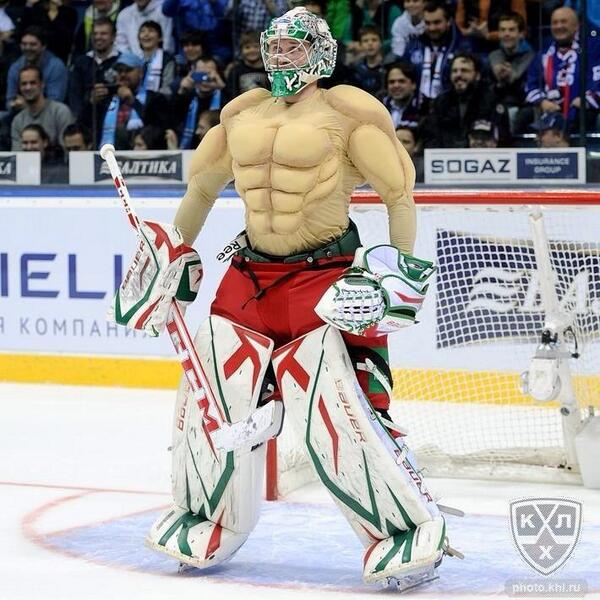 Goalie Jersey From An All Star Game In Russia Funny