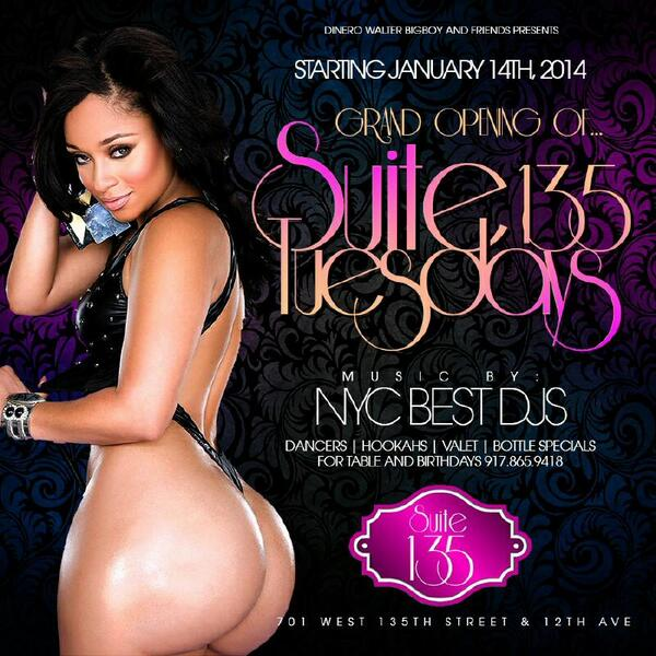 U already know this tuesday the grand opening suite135 30gogo dancer we @DJPROSTYLE @DjkassNyc @TheRealTahiry http://t.co/X5ei1dE8bQ