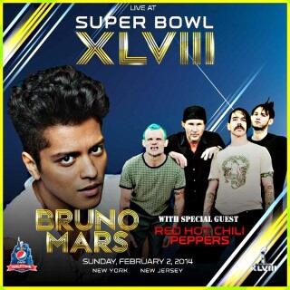 Red Hot @ChiliPeppers to join @BrunoMars for the U.S Super Bowl show...http://t.co/ZhGanb33uo #music http://t.co/2GlcTulVrs