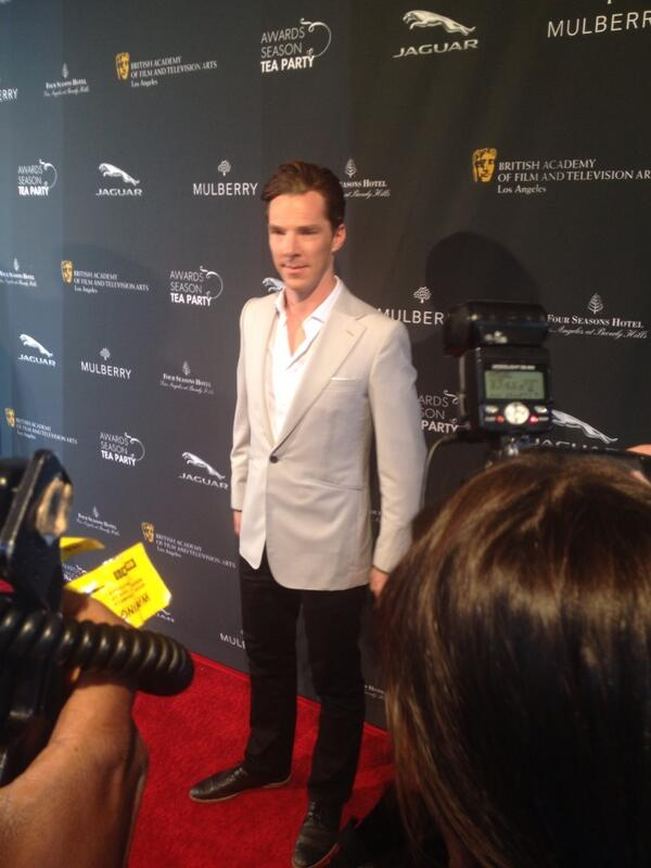 One more #BenedictCumberbatch #AwardsTea http://t.co/9oGD8XAEIg