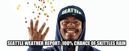 Marshawn seals it! Century Link forecast... #12s #GoHawks #NOvsSEA #Seahawks http://t.co/LUOTSnnP1c
