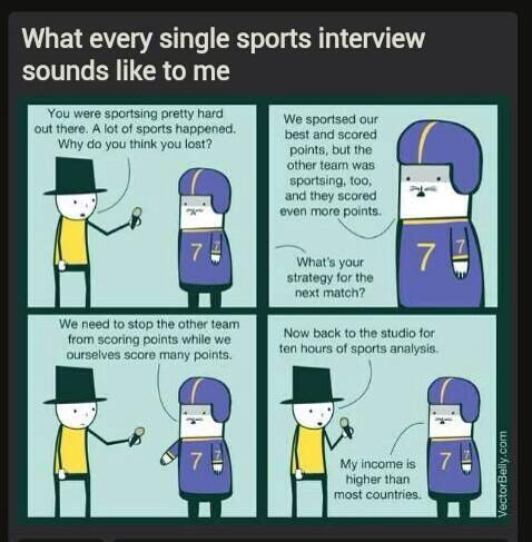 Every Sports interview ever http://t.co/Qrfl7rbuLS