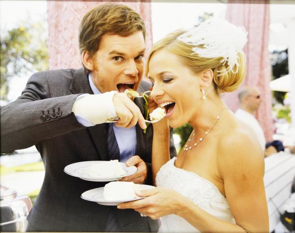 Jasmine kelland on twitter dexter morgan and rita bennett eating jasmine kelland on twitter dexter morgan and rita bennett eating wedding cake good times michael c hall julie benz httptmmulp6tiz7 m4hsunfo