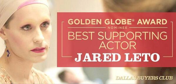 GOOD LUCK @JAREDLETO! #TeamRayon #GoldenGlobes http://t.co/lBJKVAq4K2