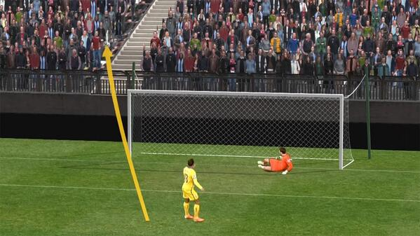 Jason Puncheons penalty miss for Palace at Spurs looked even worse from the stands!