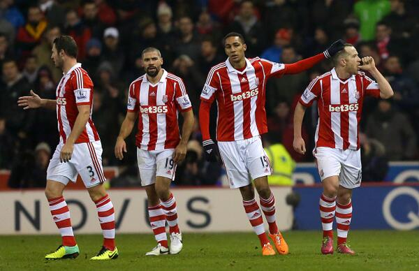 Charlie Adam and Peter Crouch panned for muted celebrations after Stoke goals v Liverpool