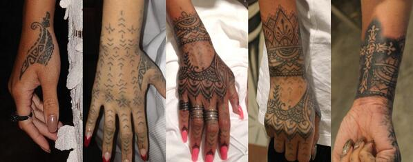 rihanna unhappy with new maori ink covers it up with - 685×337