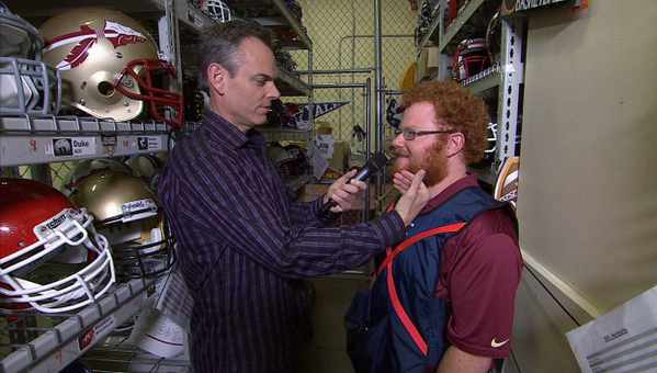 Coming up on #ColinsNewFootballShow, Red Lightning gets in the Cage!  ESPN2 NOW! http://t.co/ZnUuoxhsT6