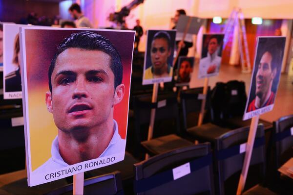 Cristiano Ronaldo and Lionel Messi are sitting just a seat apart at the Ballon dOr ceremony [Picture]