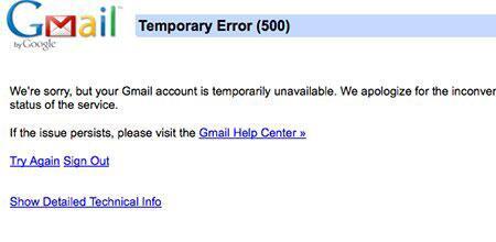 gmail, Bug Gmail : Google s'excuse et s'explique