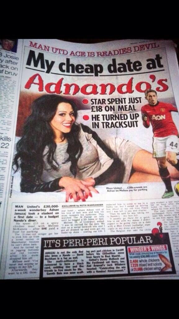 This is why i support #MUFC Gal See £ N Expect Serious Tings These Times Ur Good Wid A Peri Peri Man, Medium Hot