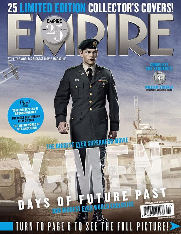 Meet Stryker before the days of Project X. See him in this #Empire25 cover played by Josh Helman. #XMen http://t.co/DEO68pXBlm