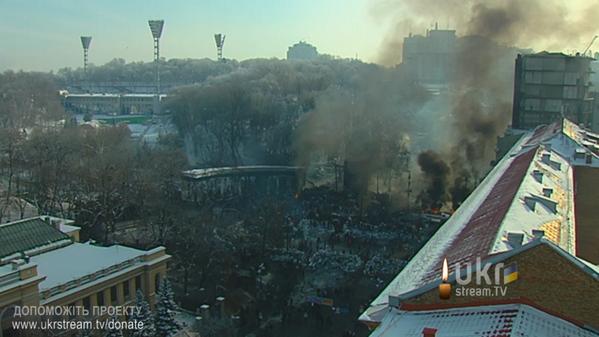 Thumbnail for EuroMaidan: 6. Tag auf Hrushevskoho Street