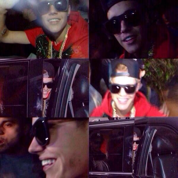 These pictures of Justin smiling just show how strong he is, @justinbieber I love you never ever stop smiling http://t.co/poBmR24Wbe