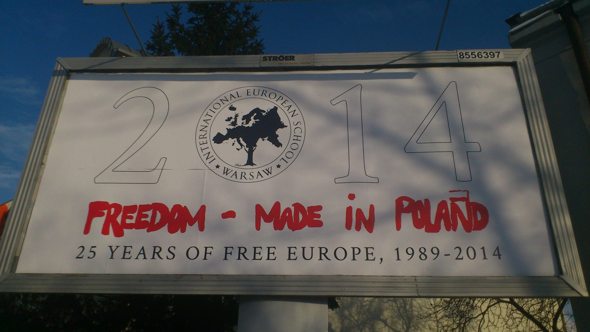 Twitter / safianik: Saw this in Warsaw this morning ...