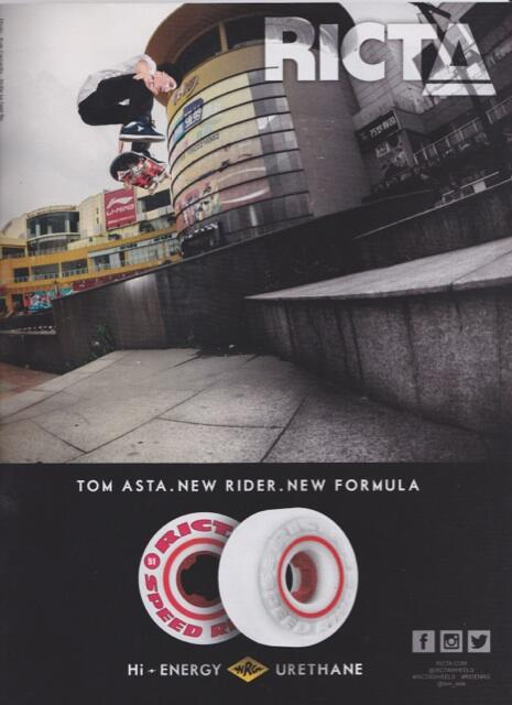 Check out @tom_asta new @rictawheels ad in @theskateboardmag // Nollie back heel// photo @kylecamarillo http://t.co/GU1E1DcTOj