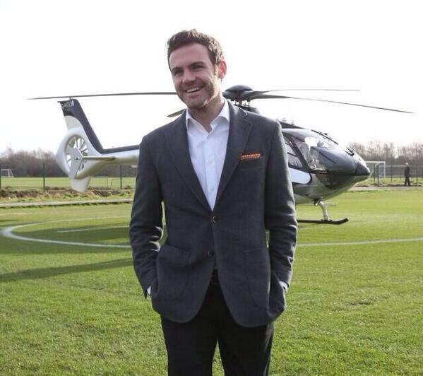 Welcome to my brother @juanmata10 just one thing....Not the best clothes!!