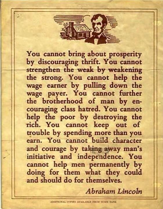 A former US President of some note had these thoughts 150 or so years ago. We'll get there eventually, right? http://t.co/IHyJH8M87j