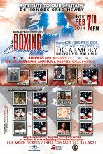 Yo! #DMV #feb7th @WLVSRadio & @EDDIEKAYNESHOW #DCARMORY #Boxing Like u never seen Before 6pm $25 tickets $50ringside http://t.co/aDCX16zV0x