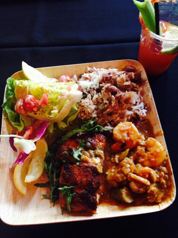 Just a dandy lil #Louisiana feast fit for a queen #Grammys @CongaRoom #OnlyIntheLouisiana http://t.co/9OcD2HTuYI