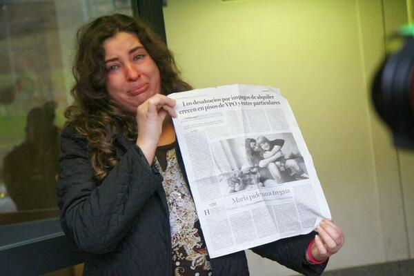 #España Desahucian a una madre con un hijo de 9 años Síndrome de Down http://t.co/kkL8SeK1m1 http://t.co/GvOm1YBW2P >> @ecorepublicano