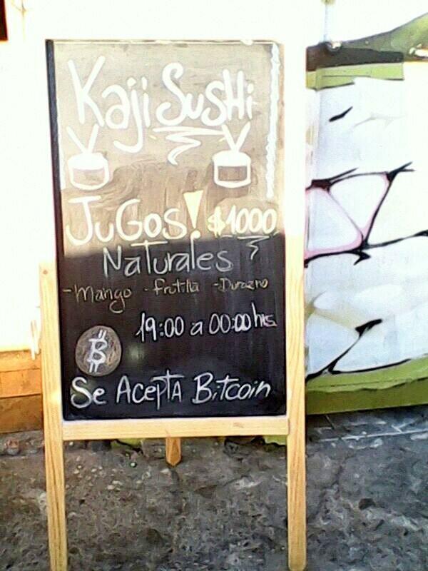 No se olviden, Kajisushi el primer sushi en aceptar bitcoins en San Miguel y P.A.C http://t.co/nAk8cI114E @kajisushi http://t.co/rM4Od6qy36