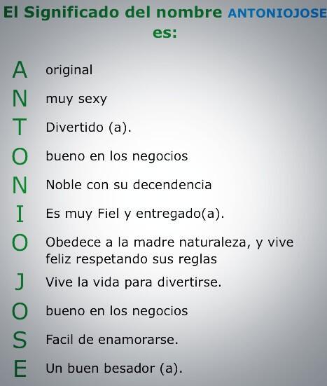 Antonio José On Twitter Significado De Mi Nombre Http T Co U5nkls7fp5