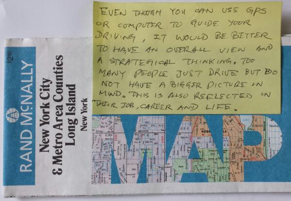 My dad sent me a #map & words of wisdom. #gps #gis (cc @giencke @timoreilly @thegpsgirl @Historiocity) http://t.co/RYhylTtwsE