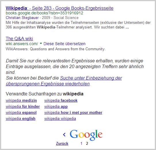 (Breaking) Google reduziert Anzahl der Suchergebnisse: http://t.co/v5i8SuwN5e !? http://t.co/VNCDg3fHlg