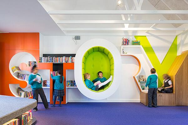 """GuardianTeach on Twitter: """"Inspiring learning spaces around the world – in  pictures http://t.co/yC4hLNfnwU - feat @StephenPerse's v cool library  http://t.co/4eVRZka96k"""""""